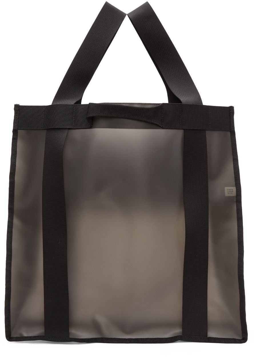 bb625fd12f Y-3 - Black Beach Tote Bag