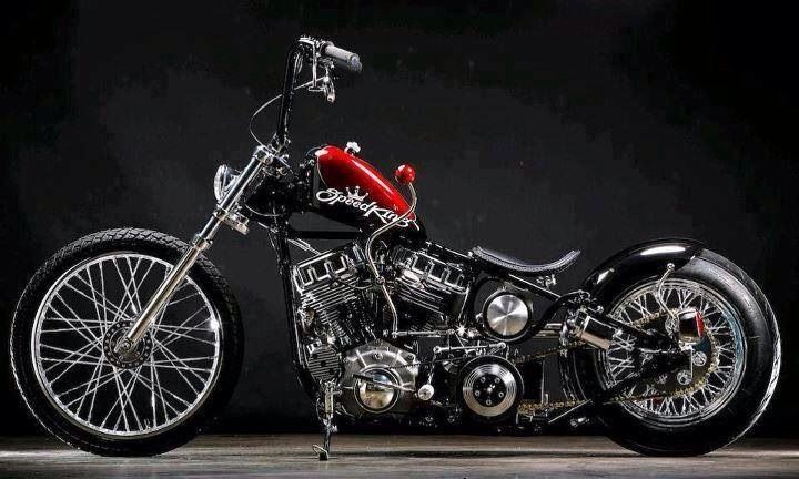 Harley-Davidson Custom - Speed King.