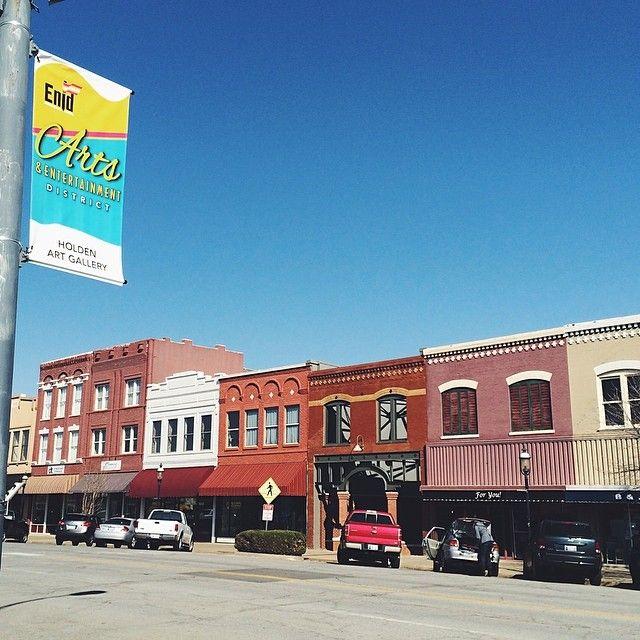 Downtown Enid Ok Enid Downtown Enid Oklahoma