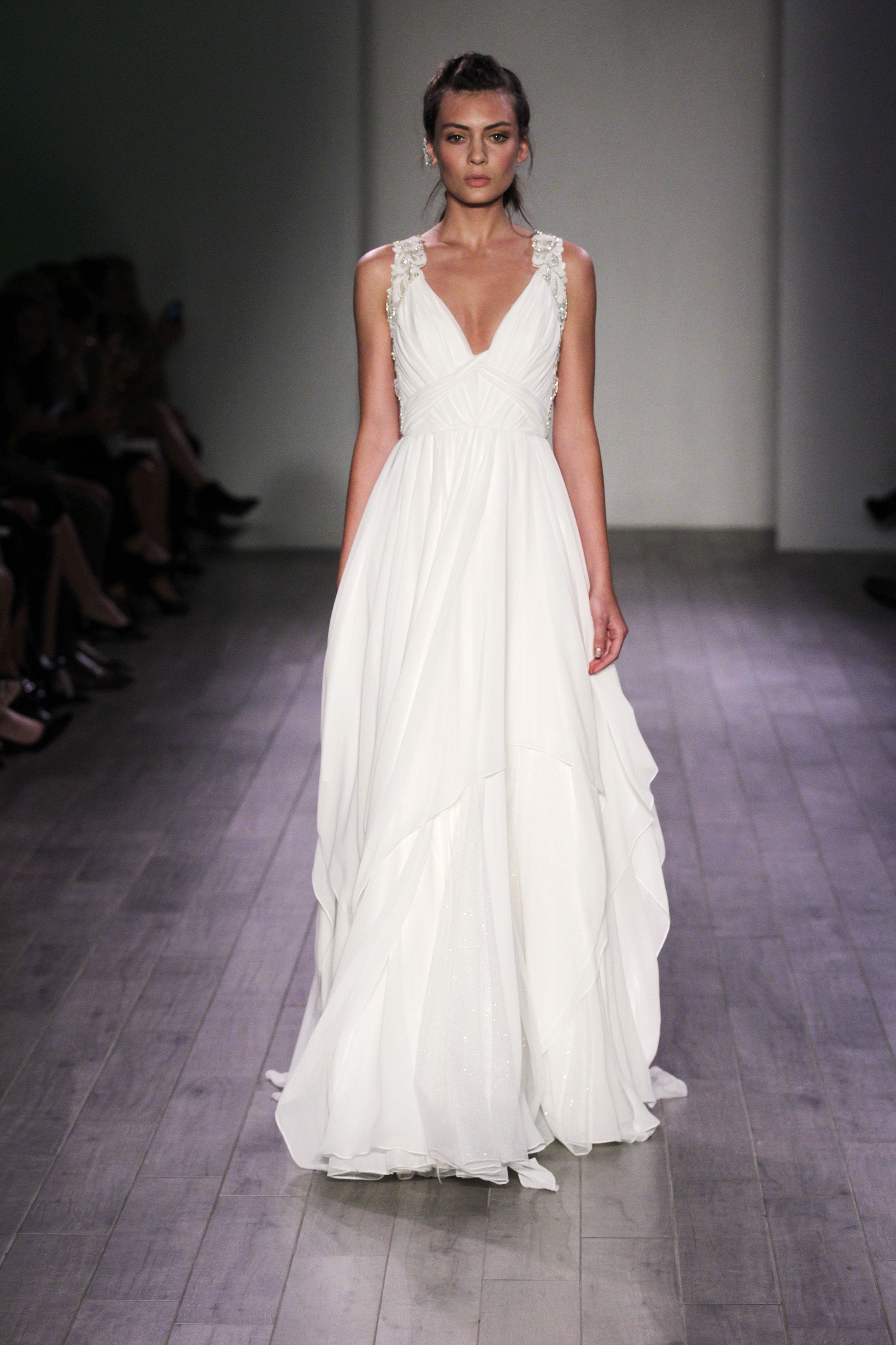Vera Wang Grecian Wedding Dress