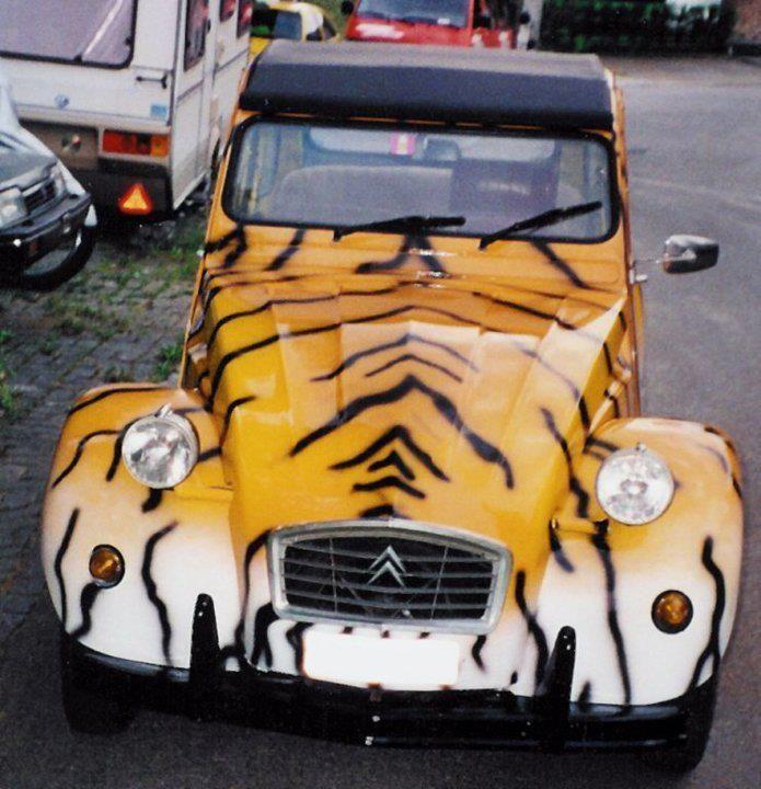 Citroen 2cv tiger