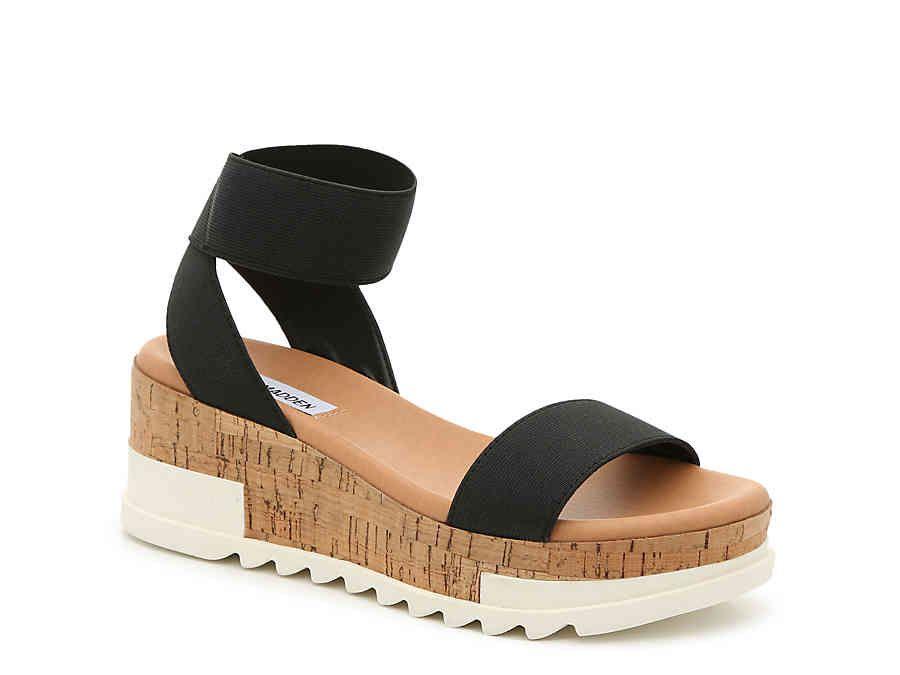 e310f82f57f Steve Madden Elba Wedge Sandal Women's Shoes | DSW | shoes in 2019 ...