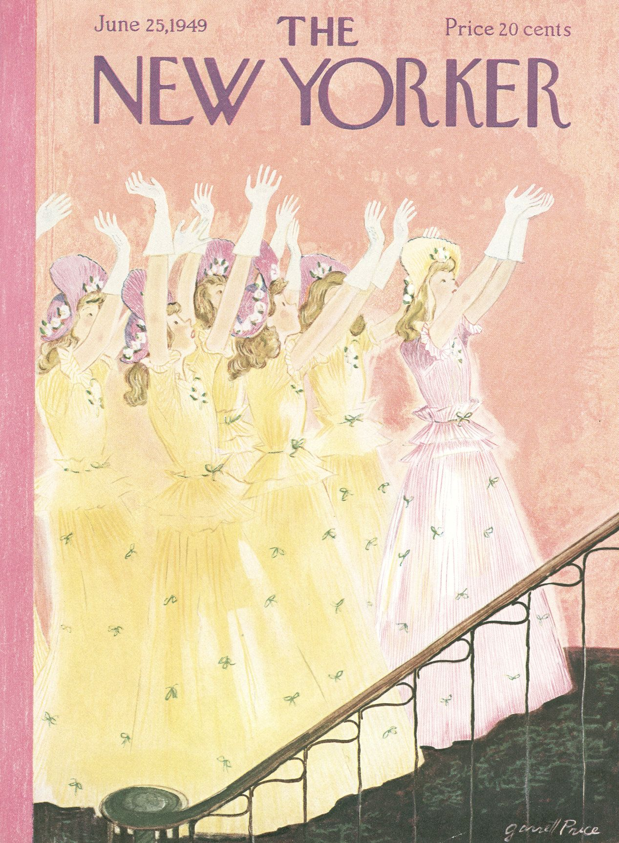 The New Yorker - Saturday, June 25, 1949 - Issue # 1271 - Vol. 25 - N° 18 - Cover by : Garrett Price