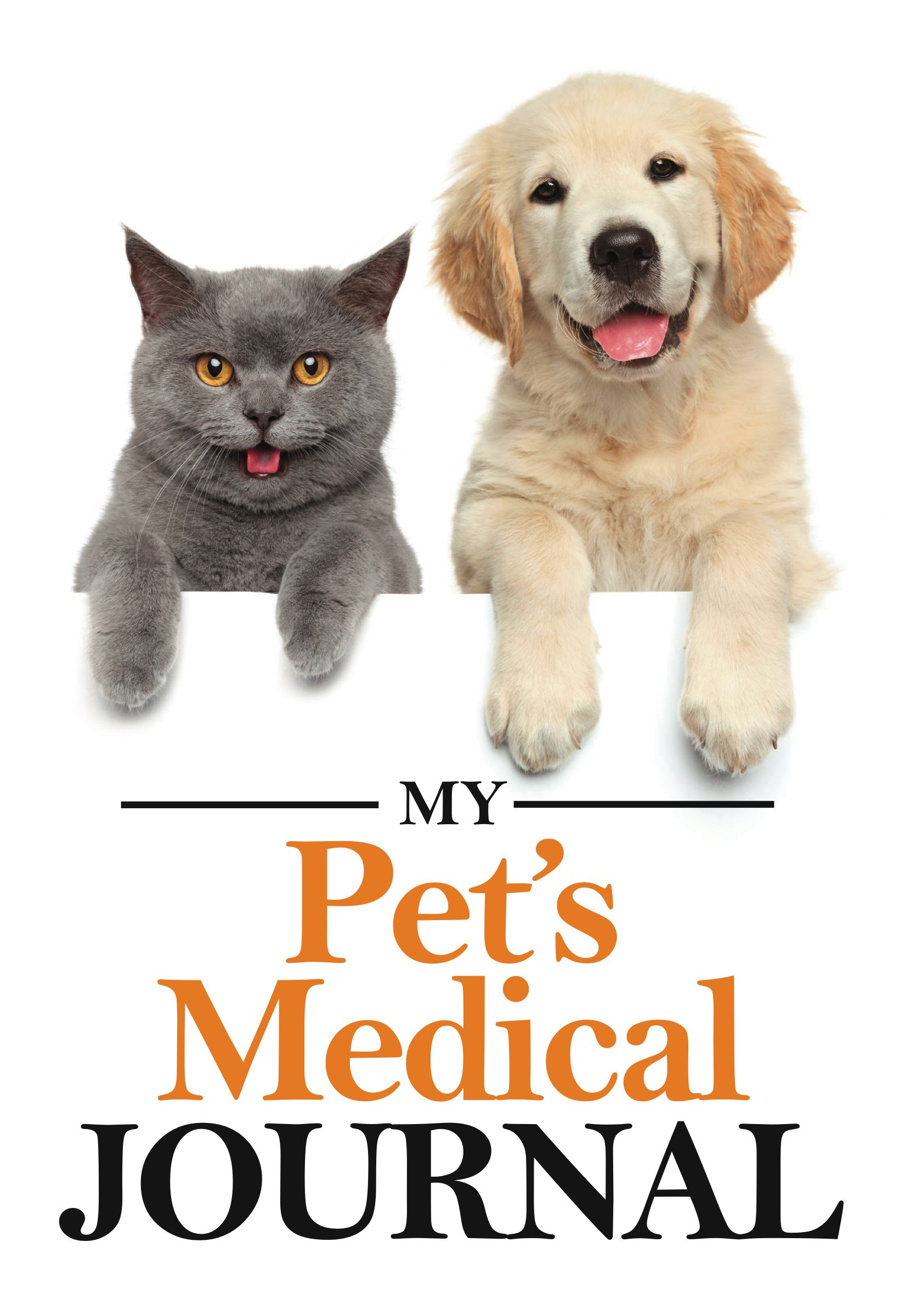This journal keeps your pet's medical visits organized and easy to keep track of. You can keep record of doctor visits, medications, and treatments. This is handy not only for pet owners, but for those who are caring for your furry friend when you are out of town. Feel confident knowing you have all the information you need about your pet's medical history at your fingertips!