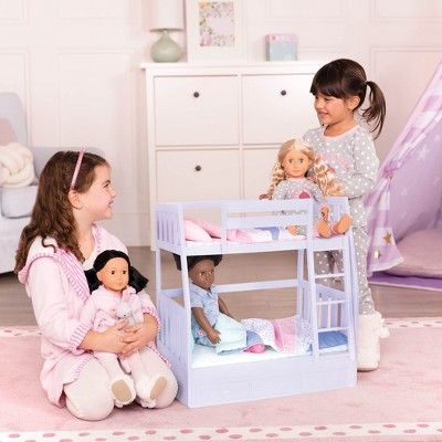 Our Generation Bunk Bed Doll Accessories Products Dolls Bunk