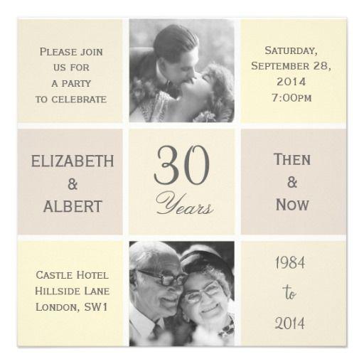 modern squares 30 years pearl wedding anniversary wedding goldene hochzeit hochzeitstag und. Black Bedroom Furniture Sets. Home Design Ideas