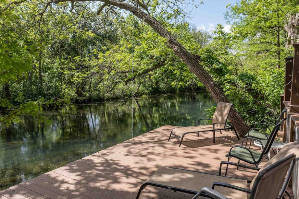 Entire Home Apt In San Marcos United States Private House Right On The San Marcos River Enjoy Riverfront Access With An Upp River House San Marco Riverfront