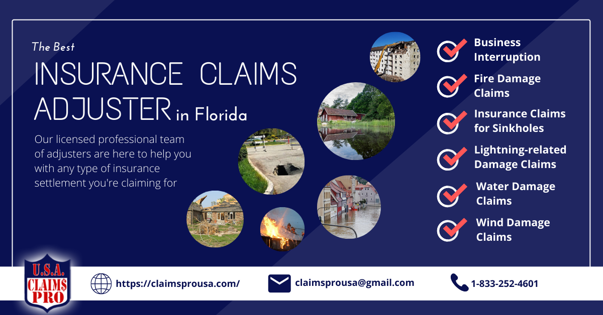 Claims Pro USA Best Insurance Claims Adjuster in Florida