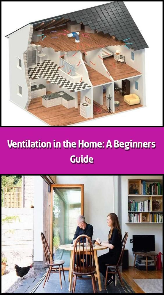 Ventilation in the Home A Beginner's Guide Ventilation