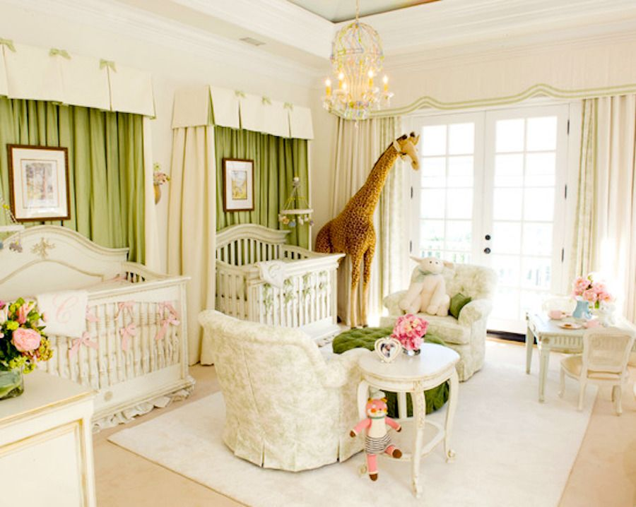 #traditional cream and green nursery View entire slideshow: 20 Traditional Nursery Ideas on http://www.stylemepretty.com/collection/398/