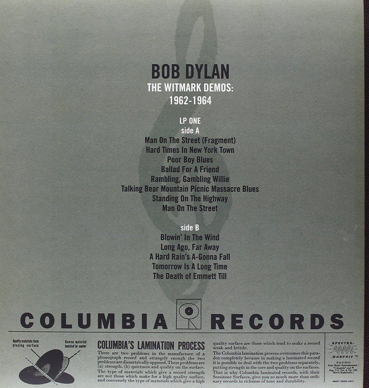 Bob Dylan The Witmark Demos 1962 1964 The Bootleg Series Vol 9 Vinyl