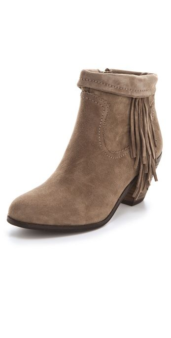 29ae654075ca Sam Edelman Louie Fringe Booties. Always my go-to. Always.