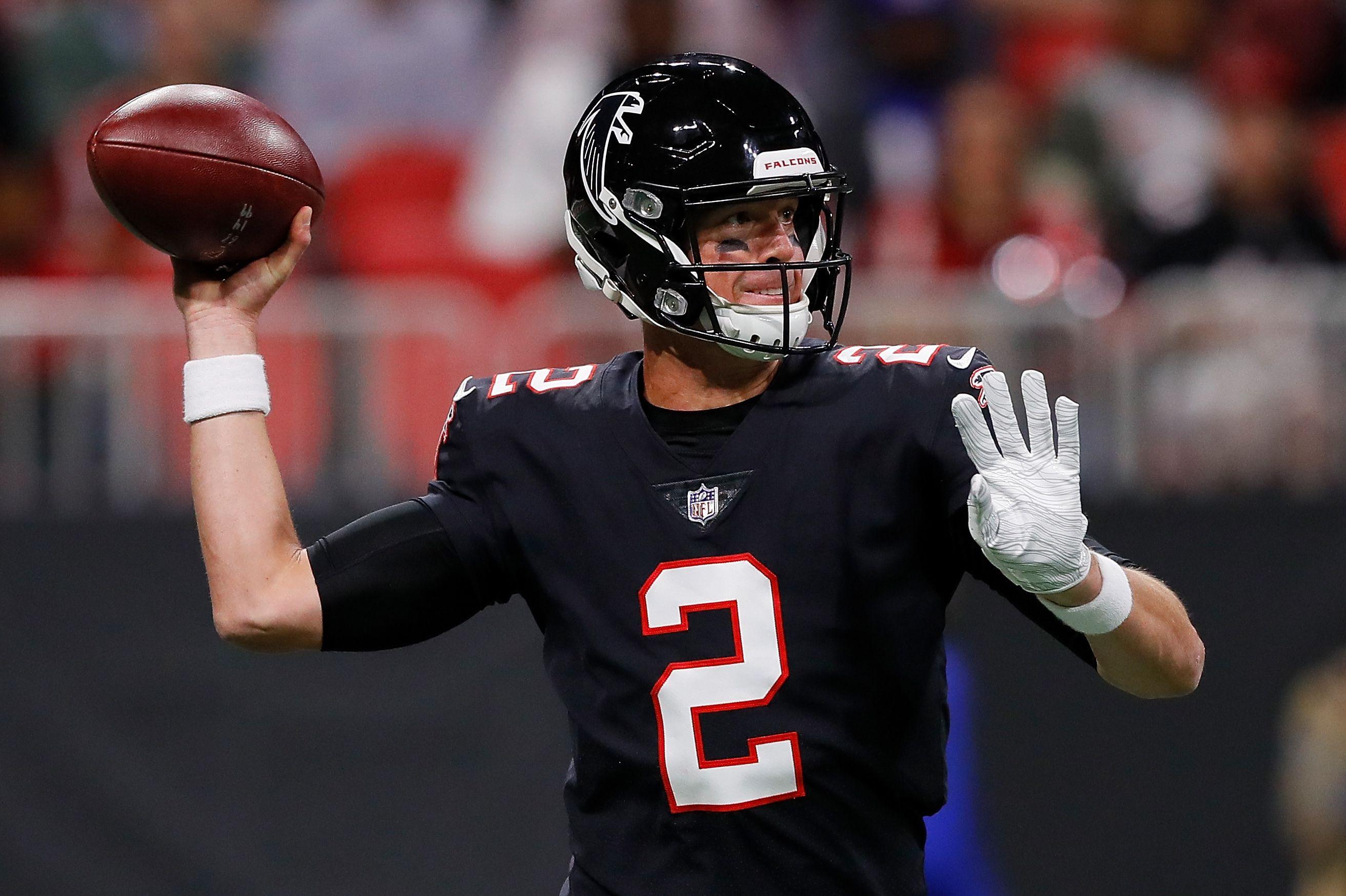 Matt Ryan Falcons Beat Eli Manning Giants Despite Big Night From Odell Beckham Matt Ryan Eli Manning Giants Falcons