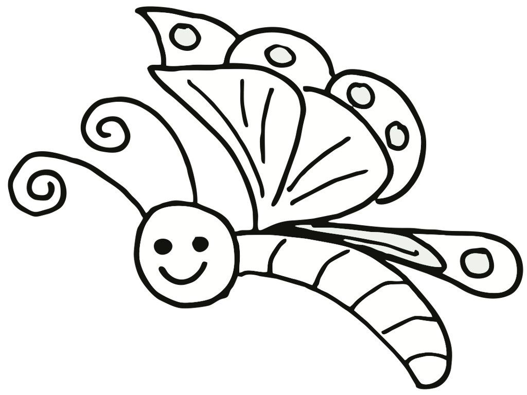 Mariposas Para Colorear Pintar E Imprimir Mariposas Para