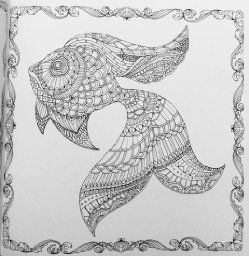 Lost Ocean An Inky Adventure And Coloring Book Johanna Basford 9780143108993 Amazon