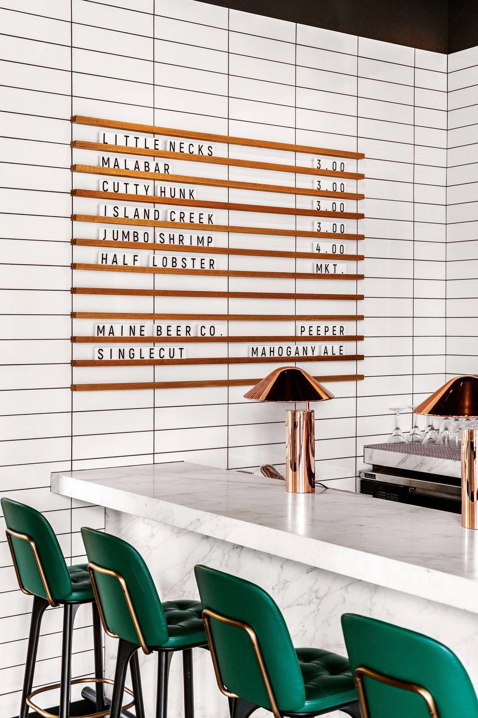 50 Stunning Interior Design Ideas That Will Take Your House To Another Level: Stunning Interior Design, Green Interior Design, Restaurant Interior