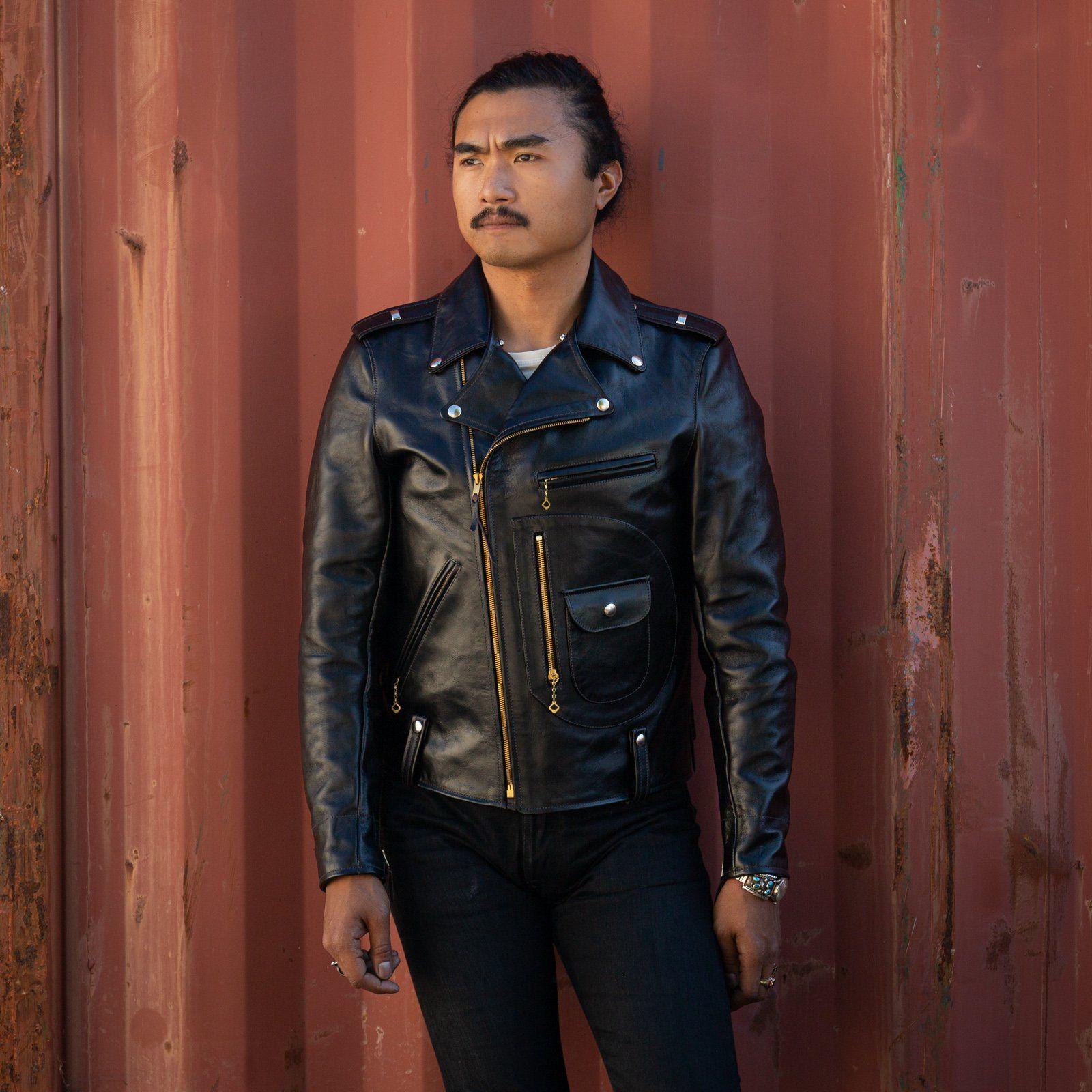 Buco J 24 Horsehide Leather Jacket Leather Jacket Jackets Leather [ 1600 x 1600 Pixel ]