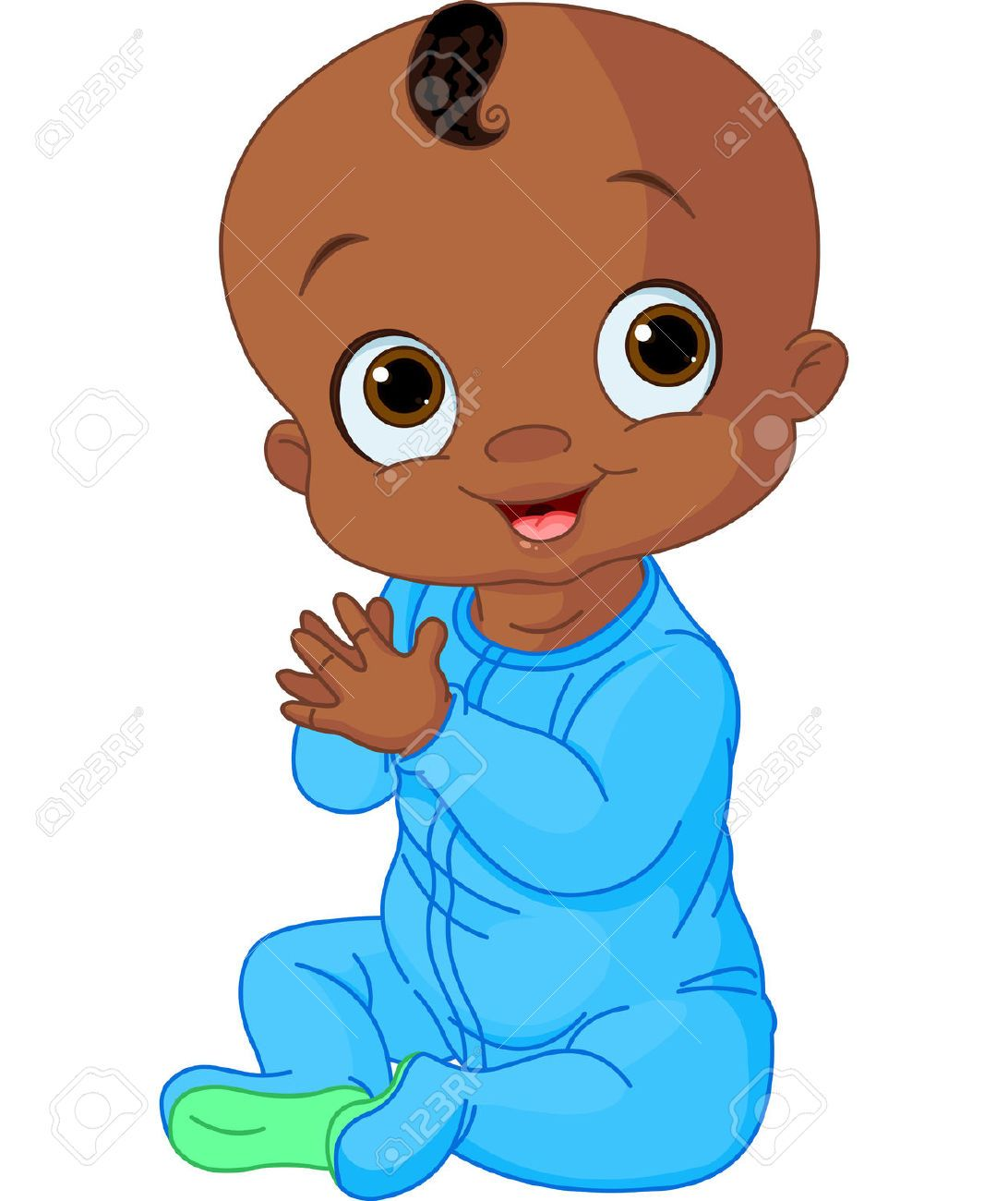 african american stock illustrations cliparts and free african rh pinterest com black baby boy clipart black baby girl clipart