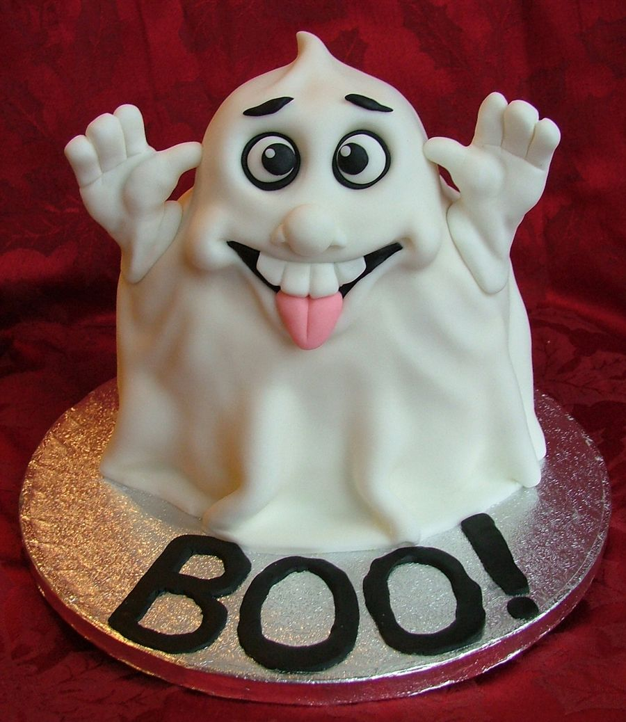 Ghost Cake Ghost Cake Scary Cakes Halloween Cakes