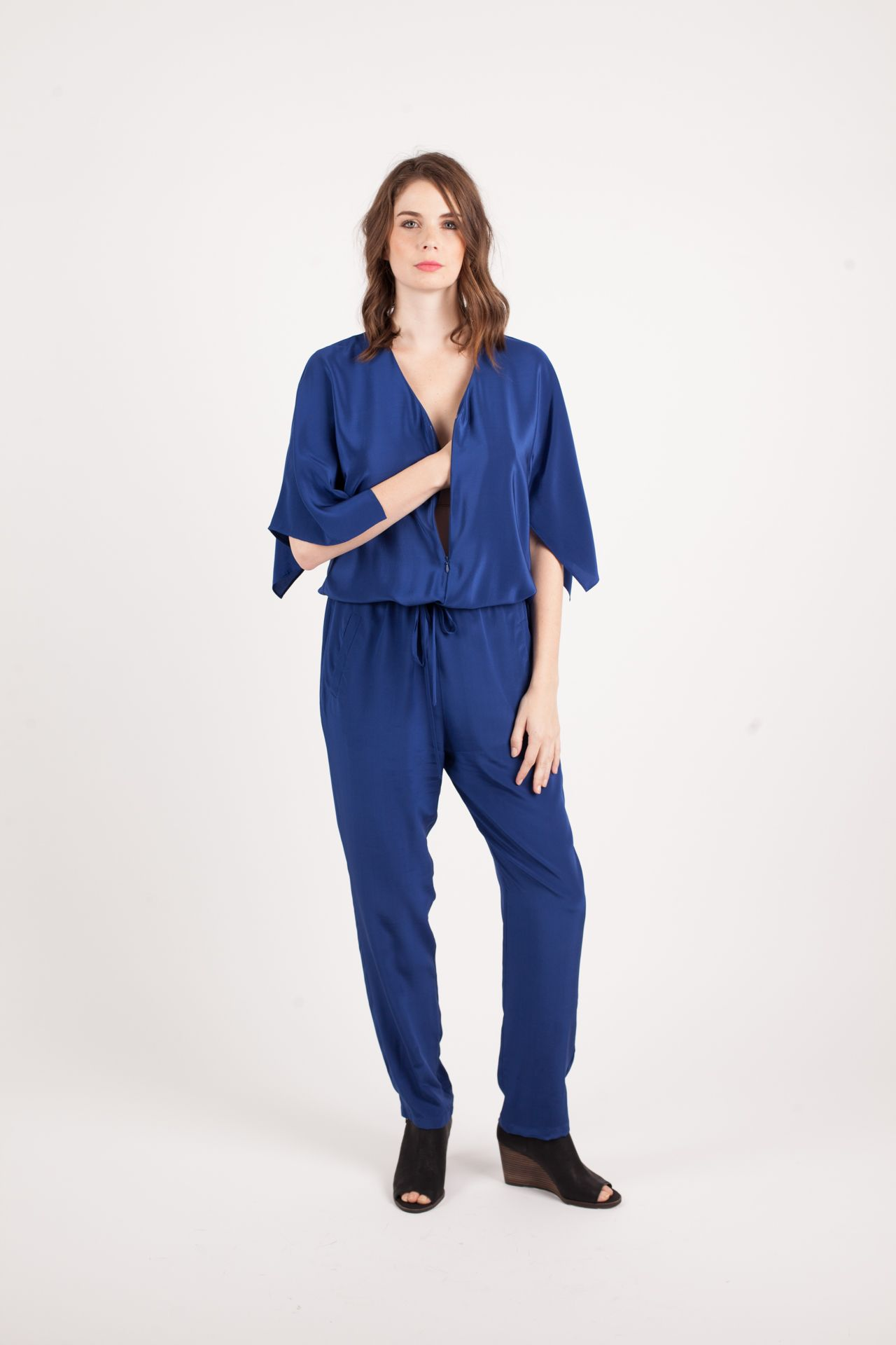 6ebbde088fe0 Kinwolfe Resilient Jumpsuit in Indigo Blue