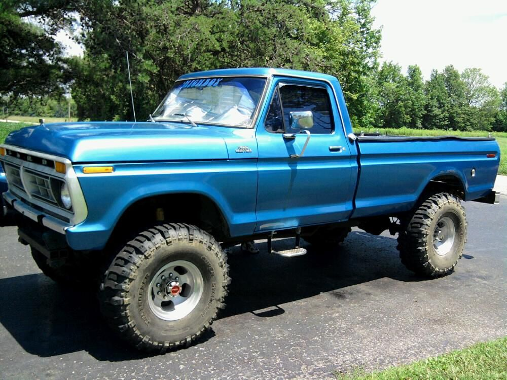 77 Ford Highboy With Images Jacked Up Trucks Trucks Ford Trucks