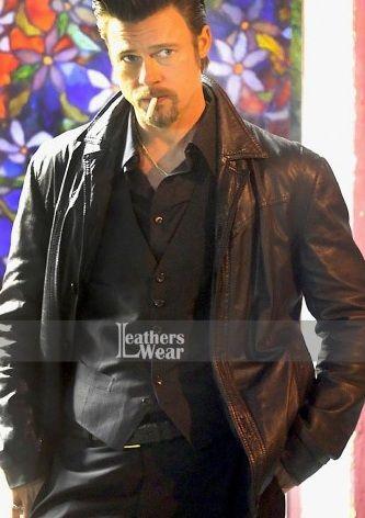 Pin On Killing Them Softly Brad Pitt Jacket
