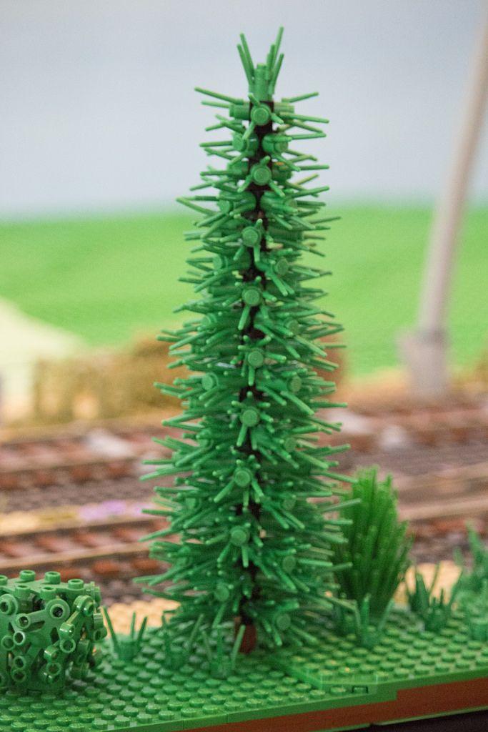 Pine Tree #LEGO #Brickvention #Melbourne