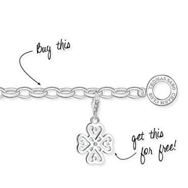 Thomas Sabo Silver Charm Bracelet - Heavy Weight | Free UK Delivery on all Orders