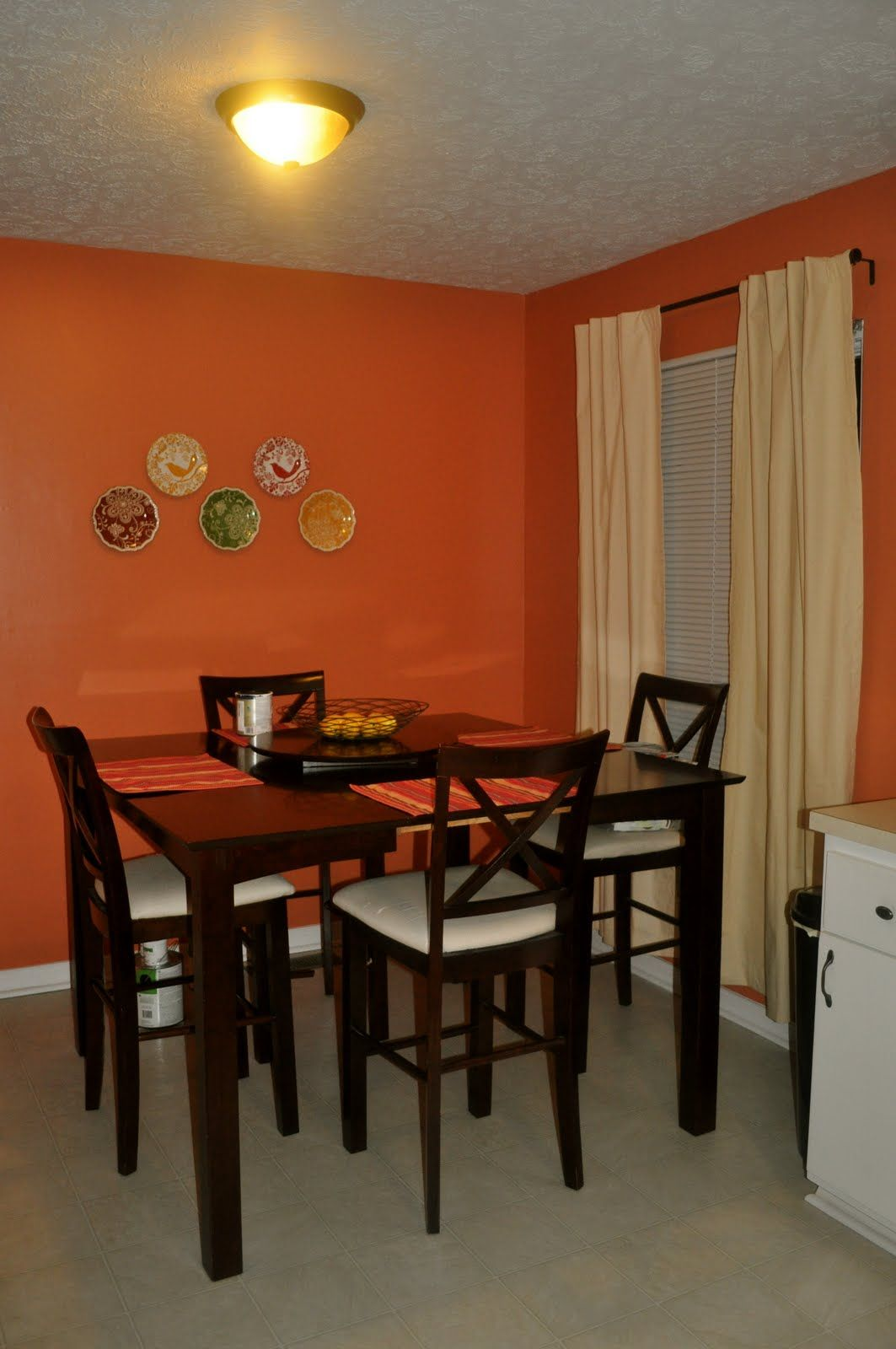 olympic paints tomato bisque kitchen orange paint on paint colors id=59809