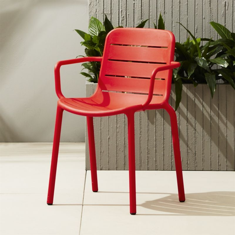 Gina Outdoor Red Chair Reviews Outdoor Chairs Modern Outdoor