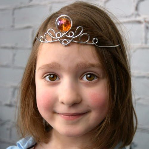 Wire-Wrapped Princess Tiara | FaveCrafts.com