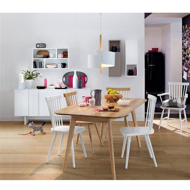 table rectangulaire 6 personnes jimi la redoute shopping prix wishlist pinterest. Black Bedroom Furniture Sets. Home Design Ideas
