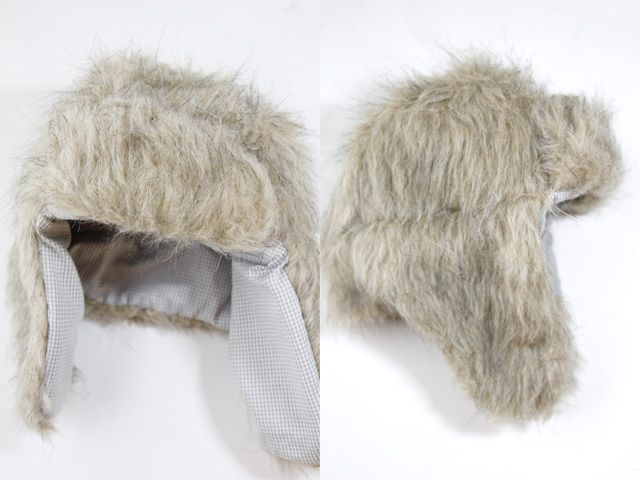 FAUX FUR: trapper hat (free pattern | Pinterest