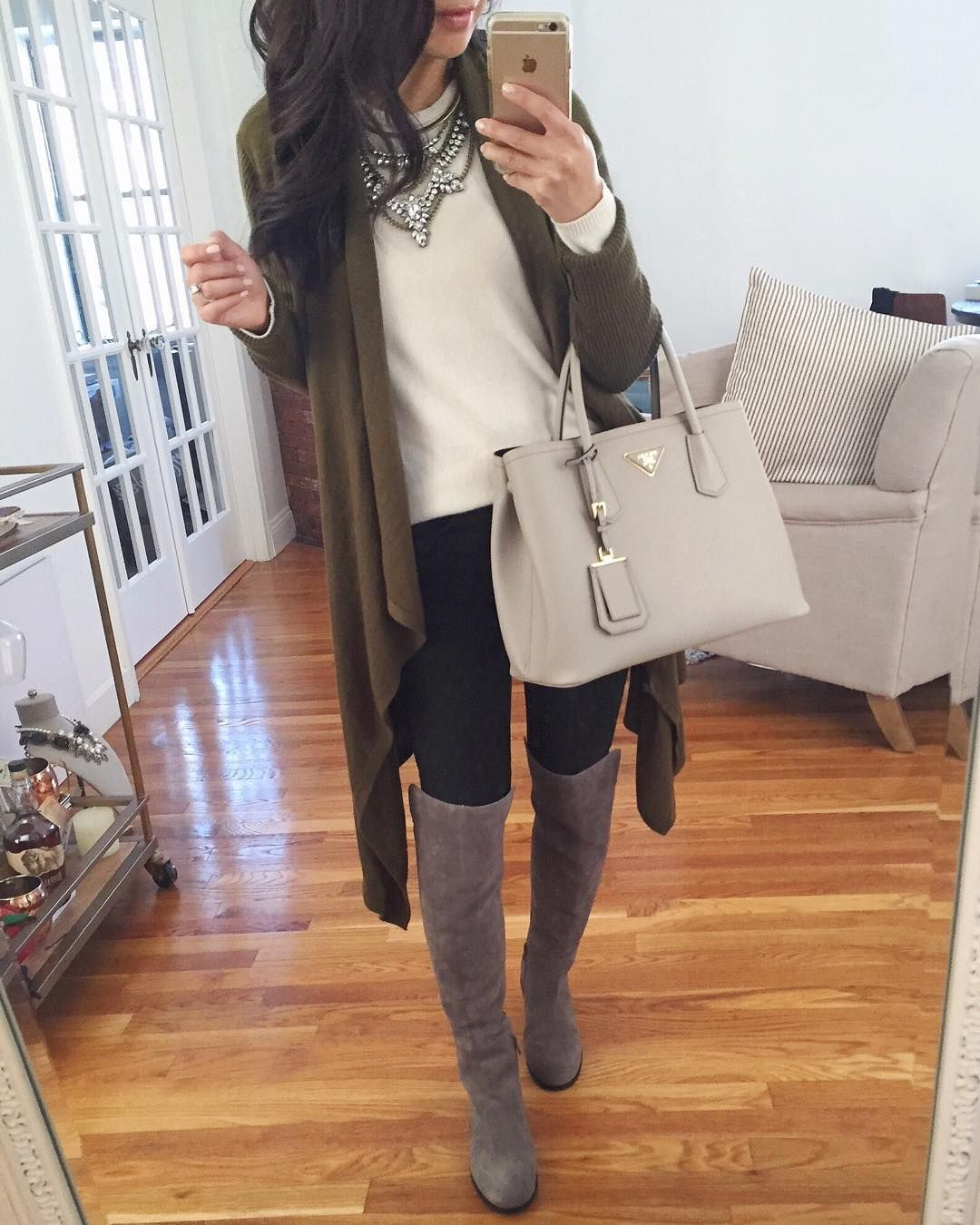 """""""Reviewing another boot option on the blog - these are good quality suede & on sale for under $200! Details are on extrapetite.com or via @liketoknow.it…"""""""