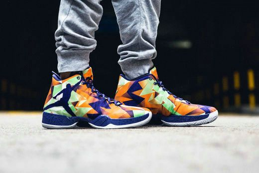pretty nice ad42e 8d211 Free Shipping Only 69  Air Jordan 29 XX9 Hare Multi Color On Feet