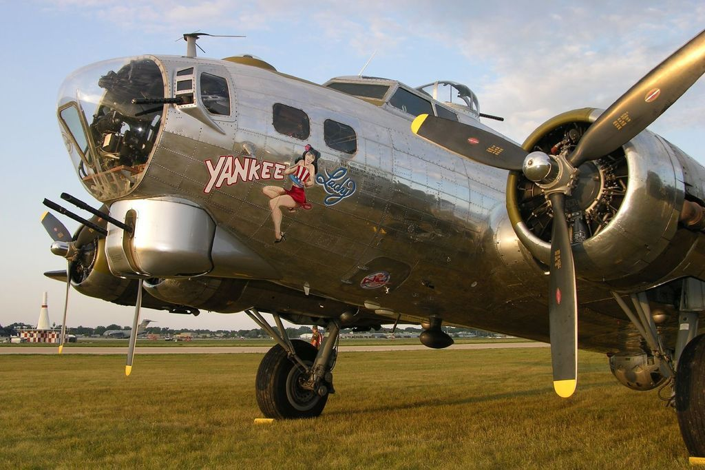 Boeing B17G Flying Fortress jigsaw puzzle Boeing