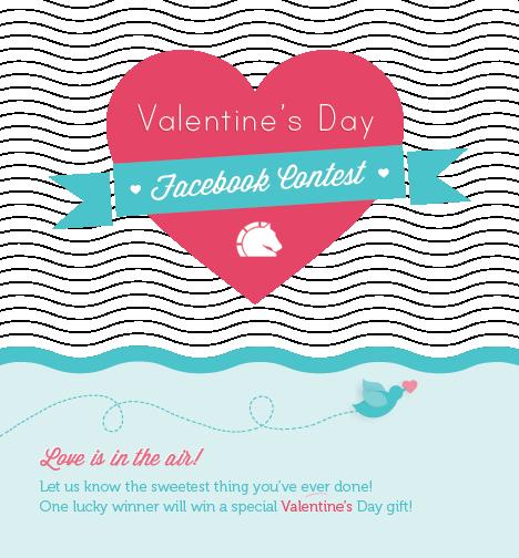 #ValentinesDay fb contest post #design