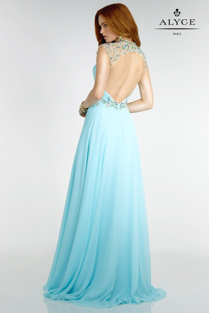 Alyce | Dress Style #6543 - back view of dress | Spring 2016 ...