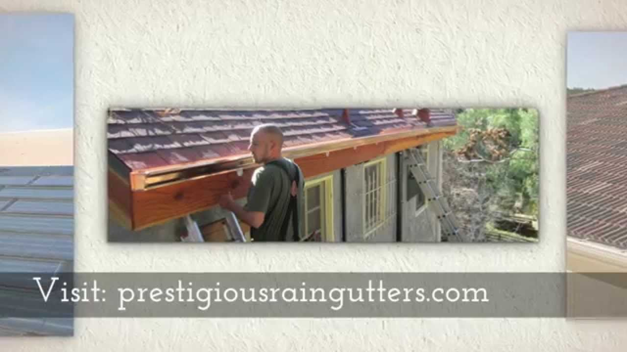 Prestigious Rain Gutters Specializes In Rain Gutters And Downspouts Installation Repair And Cleaning Call Now For Your Free Es Rain Gutters Downspout Gutters