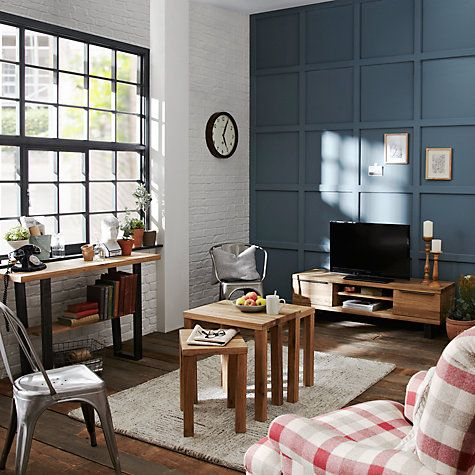 Buy John Lewis Calia Television Stand For TVs Up To 55 Dark Wood Online Living Dining RoomsDining Room FurnitureStand