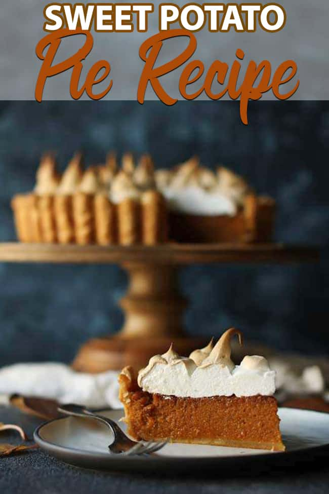 Sweet Potato Pie Recipe With Marshmallow Merengue Recipe Sweet Potato Pies Recipes Sweet Potato Pie Recipes With Marshmallows