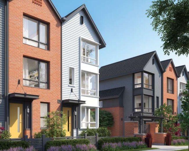 Metro Mosaic Burnaby Metrotown Jpg 652 520 Townhouse Exterior Facade Architecture Design Apartment Exterior