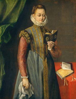 Quintilia Fischieri, c. 1600, National Gallery of Art, Washington, D.C.