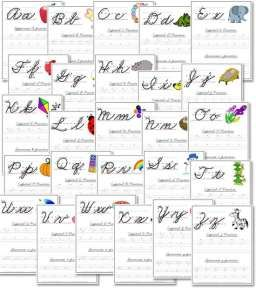 free a z cursive handwriting worksheets homeschooling cursive writing worksheets teaching. Black Bedroom Furniture Sets. Home Design Ideas