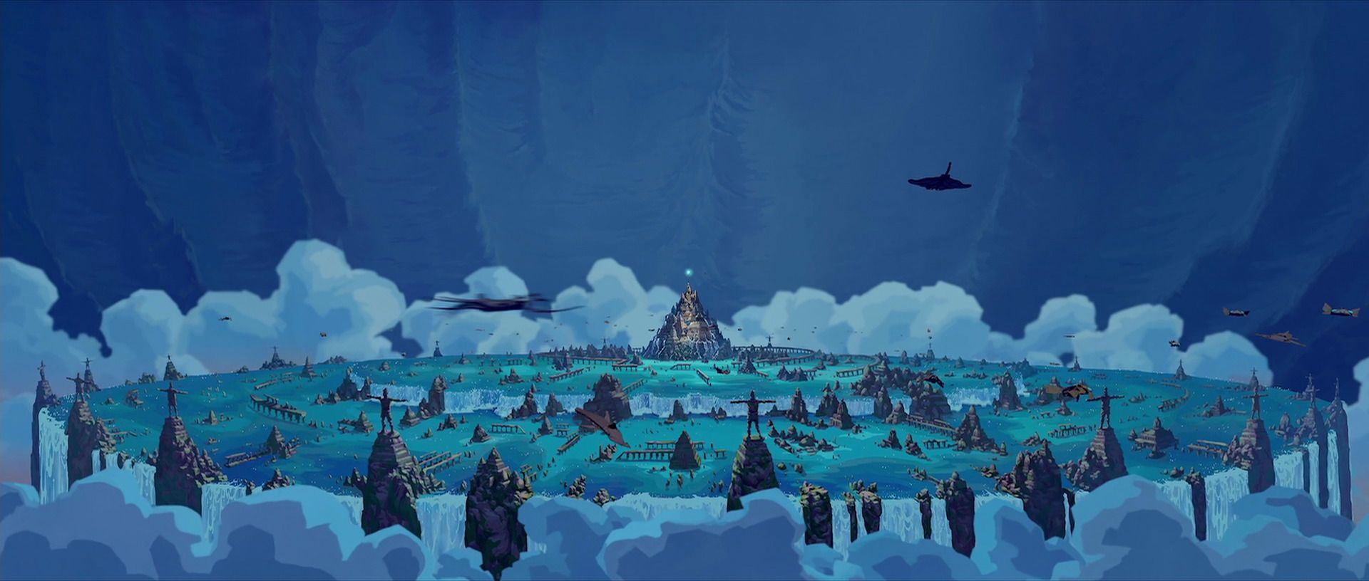 At The Time Of Its Release Atlantis The Lost Empire Was Notable For Using More Computer Generated Imagery Cgi T Atlantis The Lost Empire Atlantis Lost City