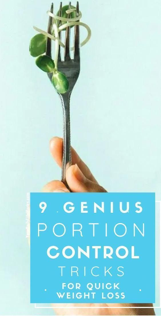 9 Genius Portion Control Tricks for Quick Weight Loss |lose weight while breastfeeding | lose weight...