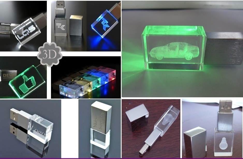 USB en acrilico