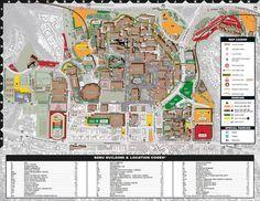 San Diego State University Map | San diego state university ...
