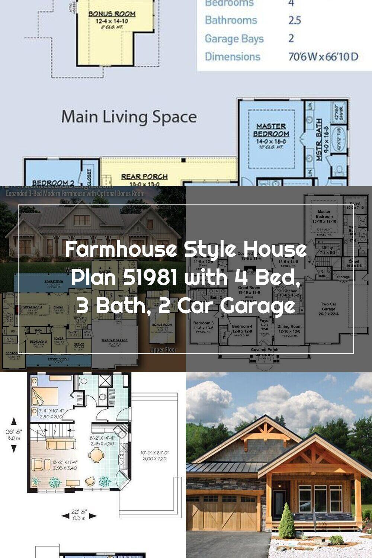 18+ 51981 house plan info