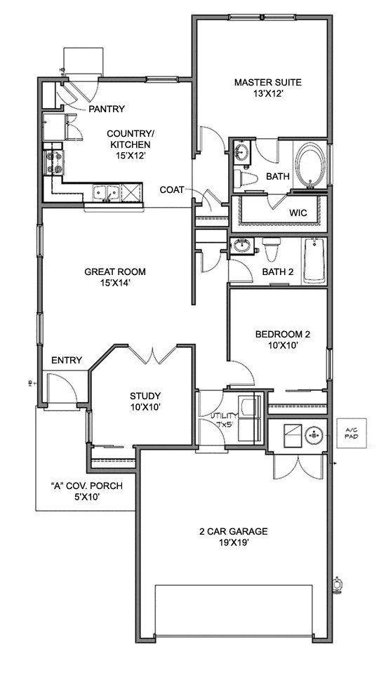 Centex Homes Chimayo Floor Plan House Floor Plans Floor Plans Luxury Floor Plans